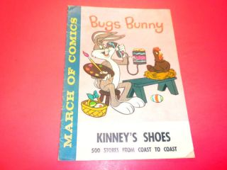 MARCH OF COMICS   BUGS BUNNY #201 Kinney Shoes giveaway