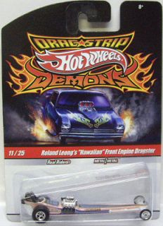 DRAG STRIP DEMONS: ROLAND LEONGS HAWAIIAN FRONT ENGINE DRAGSTER 1:64