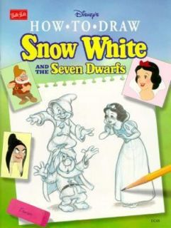 How to Draw Disneys Snow White and the Seven Dwarfs 1993, Paperback