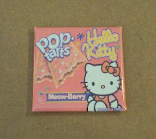 Hello Kitty Meow Berry Pop Tarts FRIDGE MAGNET box cat kitten