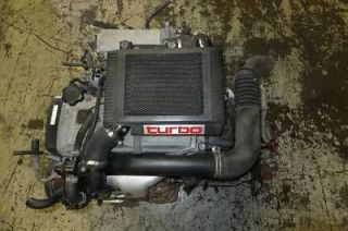 JDM TOYOTA STARLET 4EFTE TURBO TERCEL PASEO ENGINE AUTOMATIC
