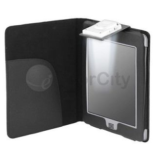 Leather Case Cover With Built in LED Light for Kindle 4 (NON Touch