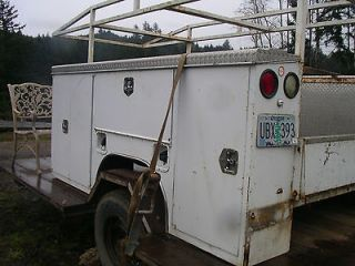 used utility truck beds in Parts & Accessories