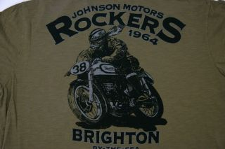 Johnson Motors Inc T Shirt Rockers 1964 (XL)