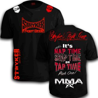 Stryker Shorts Sleeve T Shirt Top MMA UFC Muay Thai FREE Tapout Energy