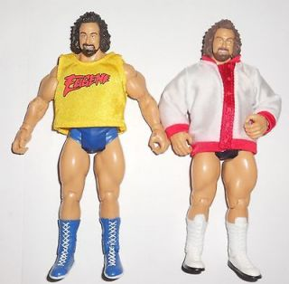 WWE TNA LOT OF 2 WRESTLING FIGURES EUGENE HULK HOGAN TYPE SHIRT AND