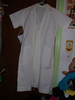 White Vintage Nurse Uniform sz12 costume cosplay Batman Joker