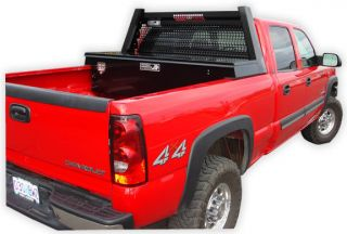 Cross Bed Truck Tool Box (black) for Pickup Ford Dodge GMC Chevy