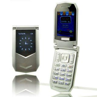 New Unlocked Dual Sim Flip Mobile Cell Phone FM Bluetooth  MP4
