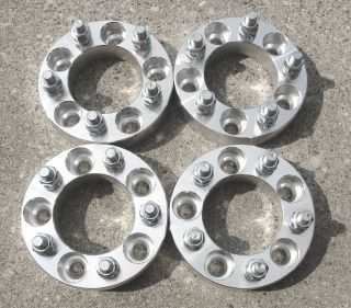 pcs  1.25  5x4.5 to 5x5  12x1.5 Studs  Wheel Spacers  Adapters