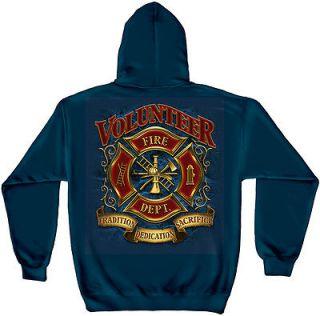 Firefighter EMS EMT Hoodie Sweatshirt Tradition Dedication Sacrifice