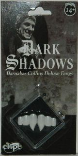 Dark Shadows TV Series Barnabas Collins Deluxe Vampire Fangs, NEW