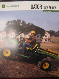 John Deere Gator XUV Utility Vehicle Sales Brochure