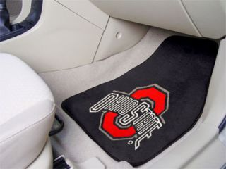 ohio state buckeyes black car seat towel cover. Black Bedroom Furniture Sets. Home Design Ideas