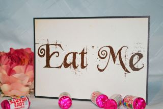 Wedding Candy Cake Buffet Sweet Bar Table Personalised Sign Vintage