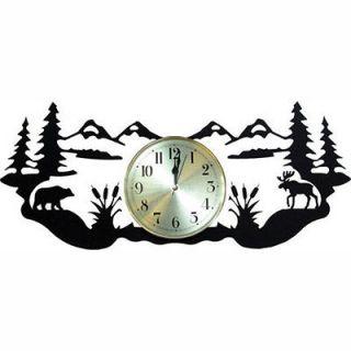 wrought iron wall clocks in Wall Clocks