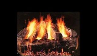 vented propane gas logs