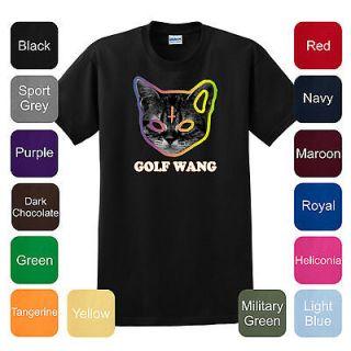 Golf Wang Cat T Shirt OFWGKTA Tyler the Creator Odd Future Wolf Gang