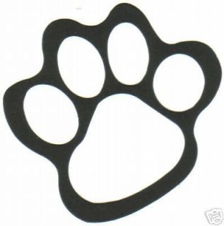 Tiger Cub Paw Print Diecuts Scrapbooking Scouting