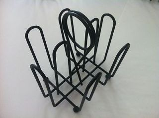 Commercial Table Top JELLY PACKET RACK  Blk Powder Coated Metal  Used
