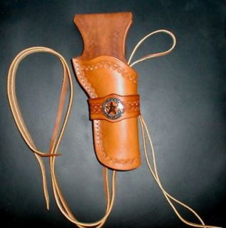 Western Cowboy Holster Fast Draw Tan Colt/Vaquero 5.5 CHRISTMAS SALE!
