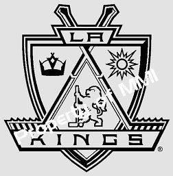 LA KINGS Los Angeles Style #5 Vinyl DECAL Hockey Window Wall Truck Car