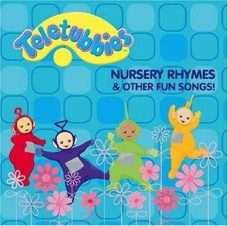 Teletubbies Nursery Rhymes Vhs Childrens Video Movie