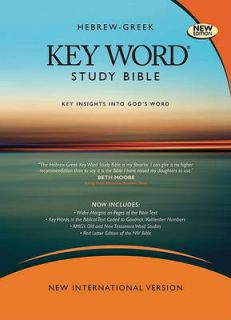 Hebrew Greek Key Word Study Bible NIV Wide Margin by AMG Publishers