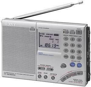 Sony Icf Sw7600Gr Multi Band World Receiver Radio