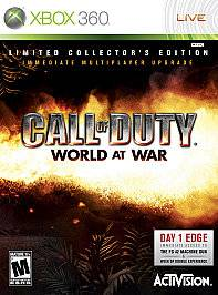 Call of Duty World at War Collectors Edition Xbox 360, 2008