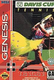 Davis Cup World Tour Tennis Sega Genesis, 1993
