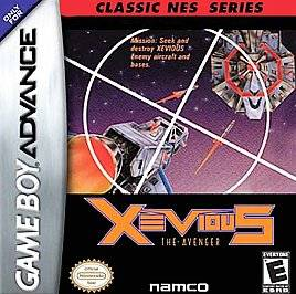 Xevious Classic NES Series Edition Nintendo Game Boy Advance, 2004