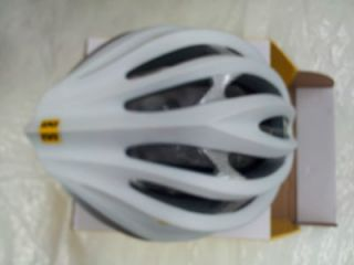 Mavic Plasma bicycle cycling race mountain bike helmet LG WHT/SIL