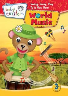 Disney Baby Einstein   Baby World Music DVD, 2009