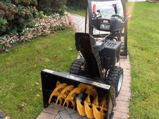 ARIENS 24 TWO STAGE SNOW BLOWER SNOW THROWER FOR PARTS OR REPAIR NR 01