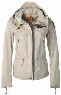 Ladies Parajumpers LADY BIRD W Hooded jacket in Sand *S* BRAND NEW