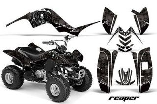 AMR RACING QUAD ATV GRAPHIC DECAL STICKER KIT STICKER YAMAHA RAPTOR 80