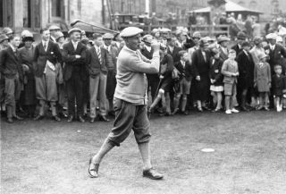 VINTAGE HARRY VARDON 1927 ST ANDREWS PHOTO PROFESSIONAL GOLFER OPEN