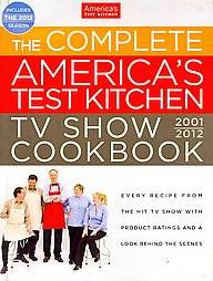 Complete Americas Test Kitchen TV Show Cookbook 2001 2012 Every