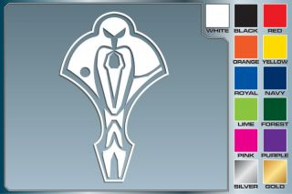 Star Trek CARDASSIAN LOGO cut vinyl decal car stickers