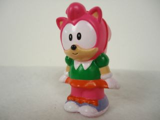 Sonic the Hedgehog Amy Rose Figure Japan Import Toy Plush 20th