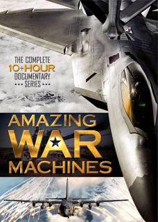 Amazing War Machines DVD, 2010, 3 Disc Set
