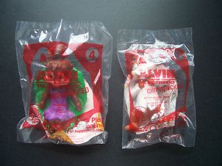 2011 MCDONALDS HAPPY MEAL TOY LOT ALVIN & THE CHIPMUNKS FIGURES ~ NEW