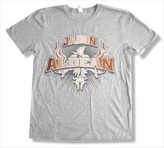 JASON ALDEAN   2011 EVENT LUBBOCK TX GREY T SHIRT   NEW ADULT LARGE L