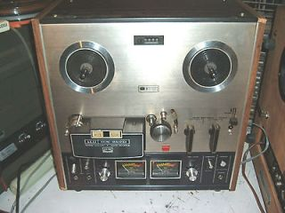 Akai GX 210D Reel To Reel Tape Recorder Great Working Condition.