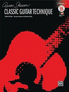 Classic Guitar Technique, Vol 1 Book and CD by Alfred Publishing Staff