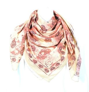ALEXANDER McQUEEN BLOODY SKULL SMUDGE SCARF BN SOLD OUT UNISEX