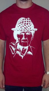 Bear Bryant   Univeristy of Alabama   Crimson Tide Fan Tee Shirt