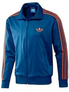 NEW Mens $68 ADIDAS ORIGINALS Blue ADI FIREBIRD TRACK Top JACKET