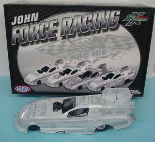 2011 1/24 John Force Castrol Ice Mustang Funny Car N/R